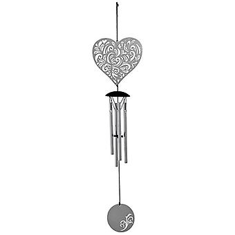 Heart Flourish Woodstock Wind Chime
