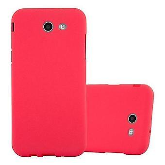 Cadorabo Case for Samsung Galaxy J3 2017 US Version case case cover - Phone case made of flexible TPU silicone – Silicone Case Protective Case Ultra Slim Soft Back Cover Case Bumper