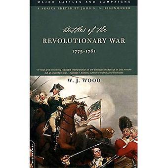 Batailles de la guerre d'indépendance: 1775-1781 (principales batailles et campagnes)