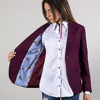 CLAUDIO LUGLI California Dogtooth Ladies Jacket