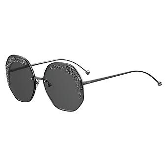 Fendi FF0358/S KB7/IR Grey/Grey Sunglasses