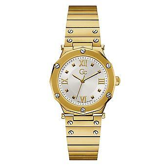 Gc Y60004L1MF Spirit Lady Gold Tone Wristwatch