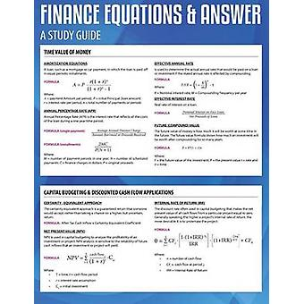 Finance Equations  Answers by Brown & Jared