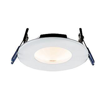Saxby belysning orbital Smart Fire rated integrerad LED 1 ljus infälld ljus Matt vit IP65 79305