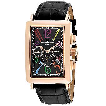 Christian Van Sant Men's Prodigy Black Dial Uhr - CV9143