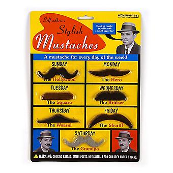 Character Goods - Archie McPhee - Stylish Mustaches New 10484