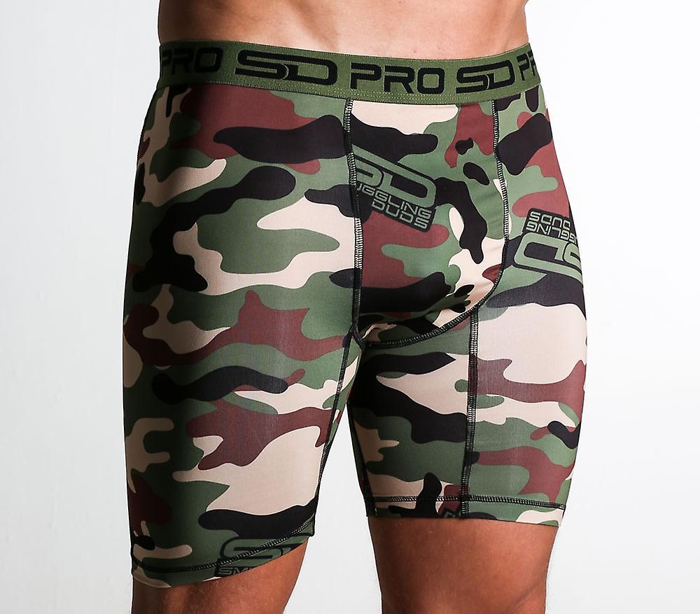 SD Pro Range Compression Shorts - Jungle Camo