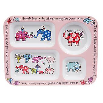 Tyrrell Katz Elephants Compartment Tray