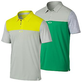 Oakley Golf Mens Alignement Performance Wicking Tech Polo Shirt