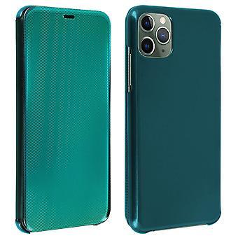 Custodia Flip per Apple iPhone 11 Pro Translucent Rigid Sottile e Leggero Flap - Verde