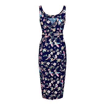 Collectif Vintage Women's Ines Charming Bird Pencil Dress