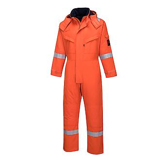 Portwest - Araflame Hi-Vis Workwear Insulated Winter Coverall