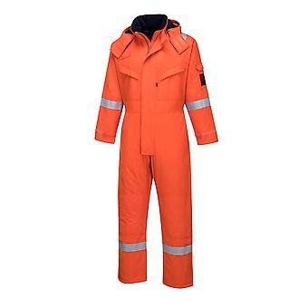 sUw - Araflame Hi-Vis Workwear Insulated Winter Coverall