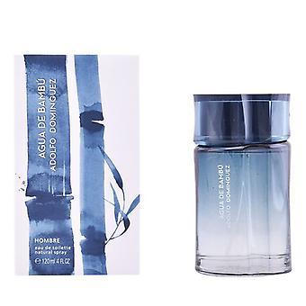 Mannen ' s parfum Agua de bambú man Adolfo Dominguez EDT (120 ml)