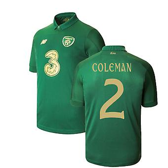 2020-2021 Ireland New Balance Home Shirt (COLEMAN 2)