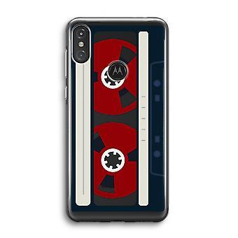 Motorola Moto One Power (P30 Note) Transparent Case (Soft) - Here-apos;s votre bande