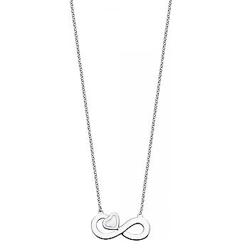 Necklace and pendant Lotus Silver MOMENTS LP1854-1-1 - necklace and pendant MOMENTS money woman