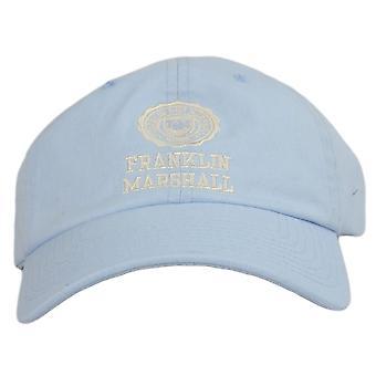 Franklin & Marshall Cpua924 Unisex Crest Logo Pastel Blue Cap
