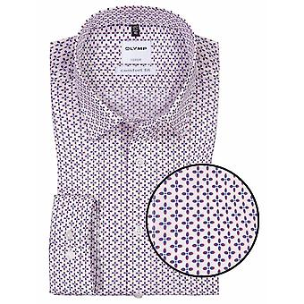OLYMP Olymp Woven Pattern Formal Shirt