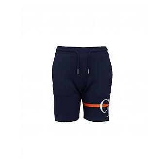 Calvin Klein Jeans Monogram Striped Logo Jersey Shorts