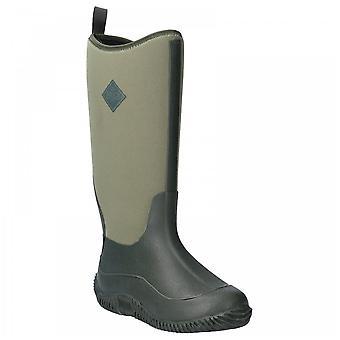 Muck Boots Ladies Hale Tall Moss Green Sporty Multi-seasonal Wellington Boots