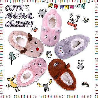 FANZERO Toddler Kids Girls Boys Cute Cartoon Animal Soft Warm Plush Lining No...
