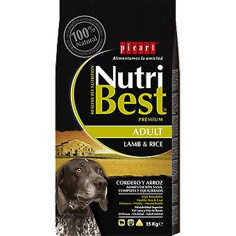 Picart Nutribest Adult lamb and rice (Dogs , Dog Food , Dry Food)