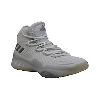 Kids Adidas Girls Explosive Bounce J Low Top Lace Up Basketball Shoes