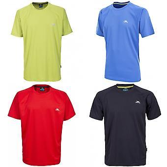 Hausfriedensbruch Herren erniedrigen aktive Kurzarm T-Shirt