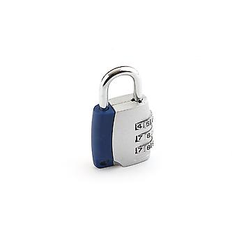 Combination Padlock - 3cm - 3 Keys - For Bags Cupboards Boxes Lockers Anti-theft Safety