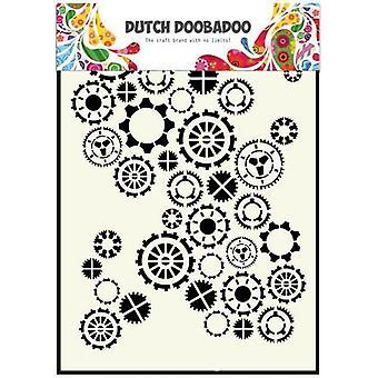 Hollannin Doobadoo A5 naamio taidetta kaavain - Gears #470154001