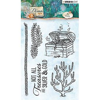 Studio Light A6 Clear Stamp Ocean View Number 367
