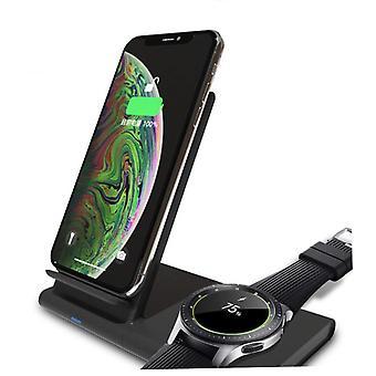 Langaton Qi-laturi älypuhelimelle, Samsungin älykellolle ja kuulokkeille - Jaollinen