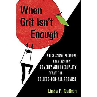 When Grit Isn't Enough - Why We Can't Afford to Abandon Our Public Sch