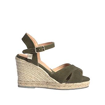 Castaner Femmes-apos;s Blaudell Wedge Espadrilles Ethical Collection 9Cm