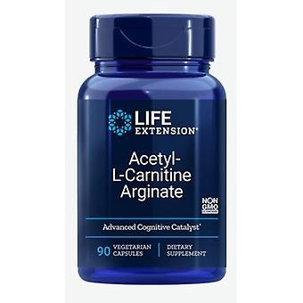 Acetyl-L-Carnitin Arginat (90 vegetarische Kapseln) - Life Extension