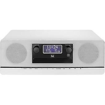 Dual DAB 420 BT Radio CD-spiller DAB +, FM AUX, Bluetooth, CD Hvit