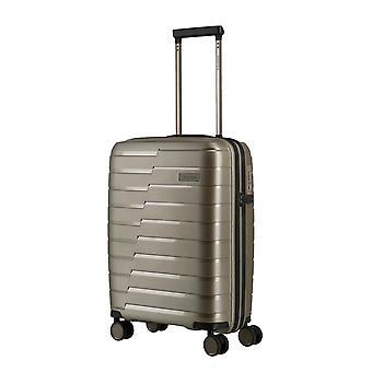 travelite Air Base Handbagage Trolley S, 4 wielen, 55 cm, 37 L, beige