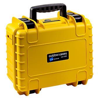 B&W Extérieur Case Type 3000, Vide, Jaune