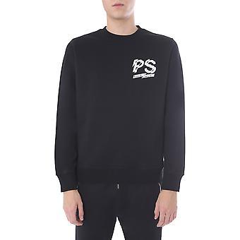 Ps By Paul Smith M2r027rap175679 Men's Black Cotton Sweatshirt
