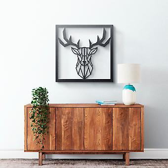 Metal Wall Art - Geometrical Deer #2