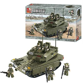 Sluban Army, Kit in 344 Parts - Tank