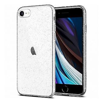 Hull For Iphone Se (2020) / 8/7 Liquid Crystal Glitter Transparant
