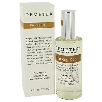 Demeter Ginseng raíz Colonia Spray por Demeter 4 oz Colonia Spray