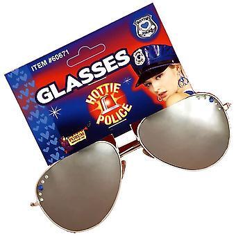 Hottie Police Glasses
