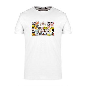 Weekend Offender Badges T-Shirt - White
