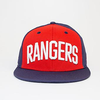 Adidas Nhl New York Rangers Flat Brim Snapback Cap