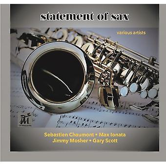 Various Artist - Statement of Sax [CD] USA import