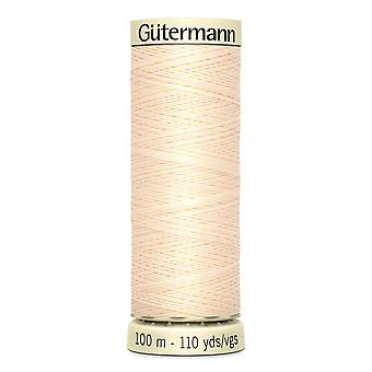 Gutermann Sew-all 100% Polyester Thread 100m Hand and Machine Colour Code  - 414