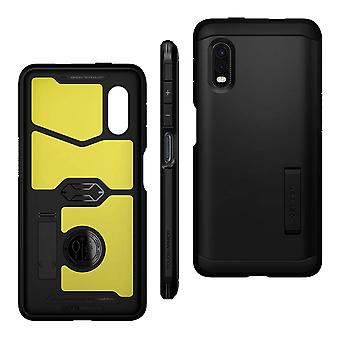 Back cover Samsung Galaxy Xcover Pro Anti-shock Tough Armor Spigen Black